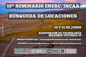 Seminario ENERC/INCAA - Locaciones